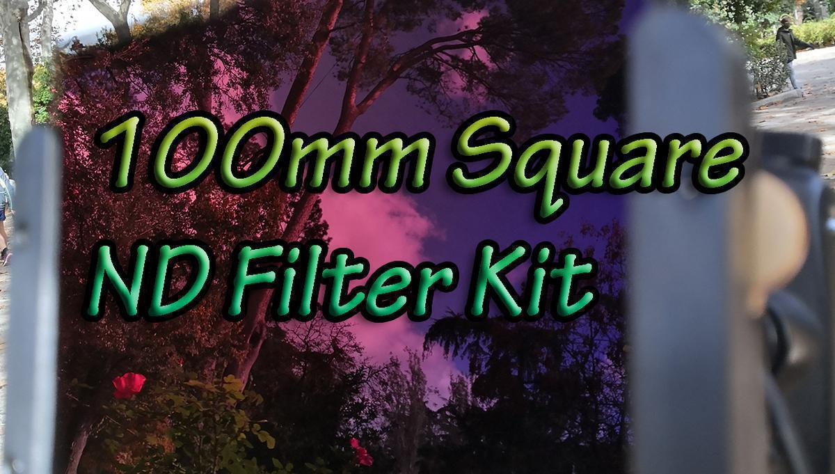 K&F Concept 100mm squre filter kit review